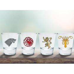Accueil Game Of Thrones - Set 4 Shooters Familles