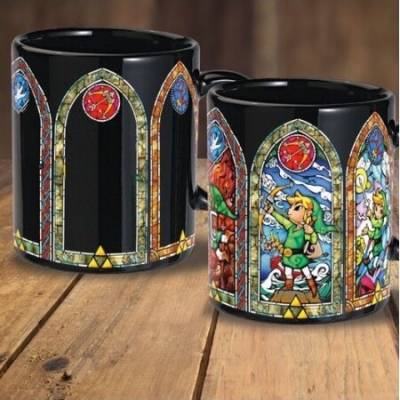 Zelda - Mug Thermo-reactif...