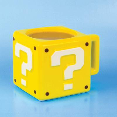 Accueil Nintendo - Super Mario Mug Block Question