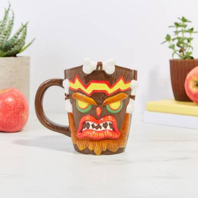Accueil Crash Bandicoot - Uka Uka Mug 3D
