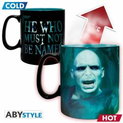 Accueil Harry Potter - Mug Thermo-réactif Mangemorts & Voldemort